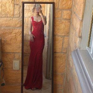Red prom/special ocasión dress